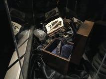 摄制材料的原始的哈利波特的陈列 图库摄影
