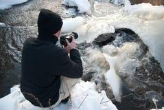 摄影冬天 库存图片
