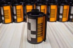 摄影卷筒软片35 mm 库存照片