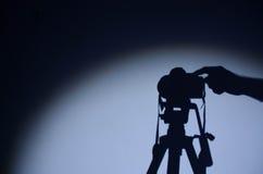 摄影在我的生活的中心 免版税库存图片