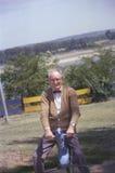 摄影师乔Sohm的弗兰克・盖格祖父 免版税库存照片