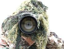 摄影师野生生物 库存图片