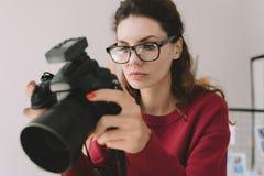 摄影师 免版税库存图片