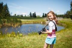 年轻摄影师 图库摄影