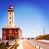 摄影建筑学 在江边的灯塔 葡萄牙 design illustration space 库存照片