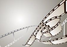 摄影抽象的影片 免版税库存图片
