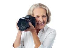 摄影是我喜爱的爱好 免版税库存照片