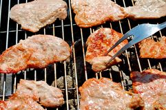 摄影烤肉 免版税库存图片