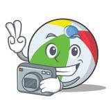 摄影球字符动画片样式 库存图片