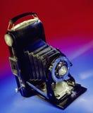 摄影-老风箱式照相机 库存照片