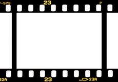 摄影35 mm影片小条 库存图片