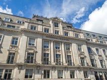 摄政的街道看法在伦敦 库存照片