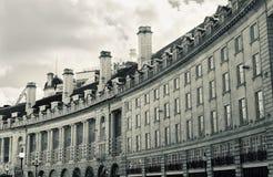 摄政的街道,伦敦 免版税图库摄影