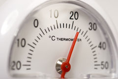 摄氏温度计 图库摄影