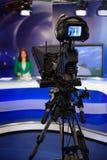 摄象机反光镜 免版税库存图片