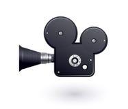 摄象机图标 免版税库存照片