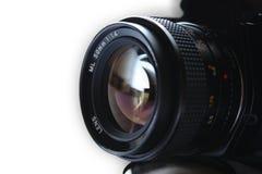 摄象机镜头专业人员 库存图片