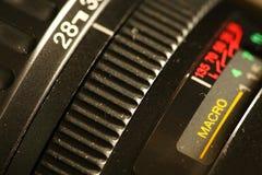 摄象机镜头场面 图库摄影