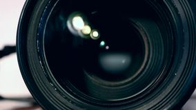 摄象机镜头迅速移动 股票视频