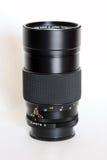 摄象机镜头长的缩放 免版税图库摄影