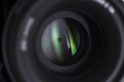 摄象机镜头特写镜头 库存图片