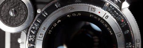 摄象机镜头特写镜头 库存照片