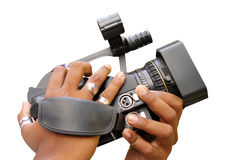摄象机 免版税图库摄影