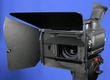 摄象机hd立场 库存图片