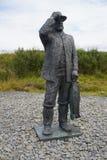摆渡者在冰岛 免版税库存图片
