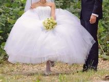 摇摆的新娘 库存照片