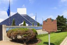 摇滚乐博物馆,俄亥俄,美国 库存照片