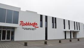 摇滚乐冰岛博物馆,雷克雅未克 库存图片