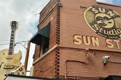 摇滚乐出生地,传奇太阳演播室 库存照片