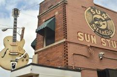 摇滚乐出生地,传奇太阳演播室 免版税图库摄影