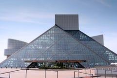 摇滚乐名人堂和博物馆 库存照片