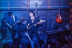 摇滚乐在越南 库存照片
