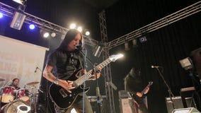 摇滚乐音乐会在哈瓦那,古巴 股票视频
