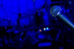摇滚乐音乐会或节日背景 免版税图库摄影