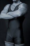 摔跤手 免版税库存图片