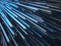摘要三度量金属形状 免版税图库摄影