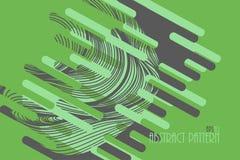 摘要上色在绿色的艺术样式 皇族释放例证