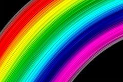 摘要上色彩虹 免版税库存图片