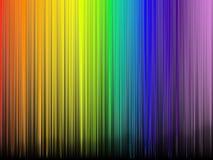 摘要上色彩虹 库存照片