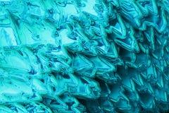 摘要冰蓝色纹理 免版税库存照片