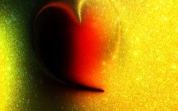 摘要多彩多姿的被遮蔽的闪烁心脏构造了与光线影响的背景 背景,墙纸 向量例证