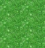 摘要成脉络绿色自然无缝的背景 库存例证