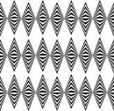 摘要扭转了几何样式-无缝反复性锋利 向量例证