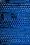 摘要接近电子线路在技术在Mainboard计算机背景 图库摄影