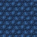 摘要有机被删去的花卉形状 传染媒介样式无缝的背景 削减matisse样式的手纸 拼贴画图表 向量例证