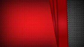 摘要模板红色几何三角对比黑背景 您能为公司设计,盖子小册子,书,banne使用 向量例证